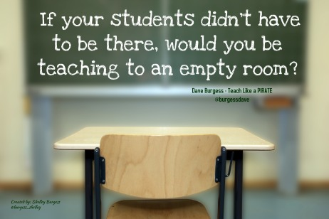 Teaching to an empty room