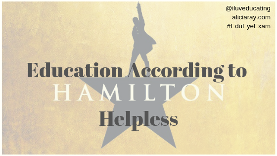 Education According to Hamilton Room Where It Happens (1)